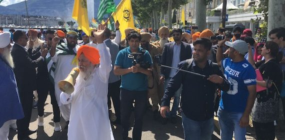 15th August Protest at UN Headquarters by Sikhs: Sikh Daily