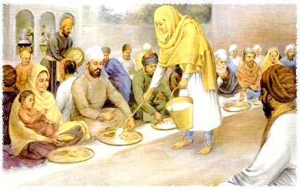 The Gurbani on Seva: Sikh Daily