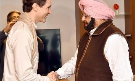OPINION: TRUDEAU IGNORANT OF CAPTAIN AMARINDER? : Sikh Daily